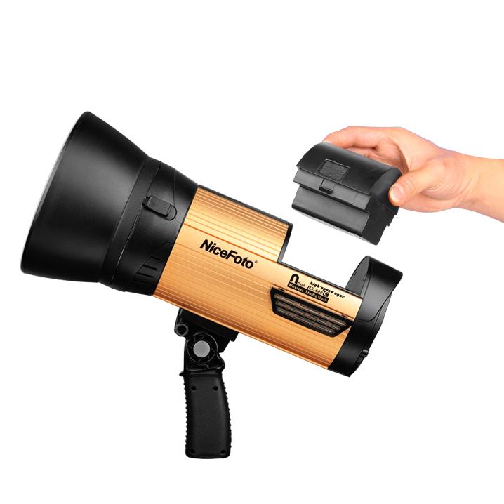 Аккумуляторный импульсный моноблок NiceFoto nflash HS400C