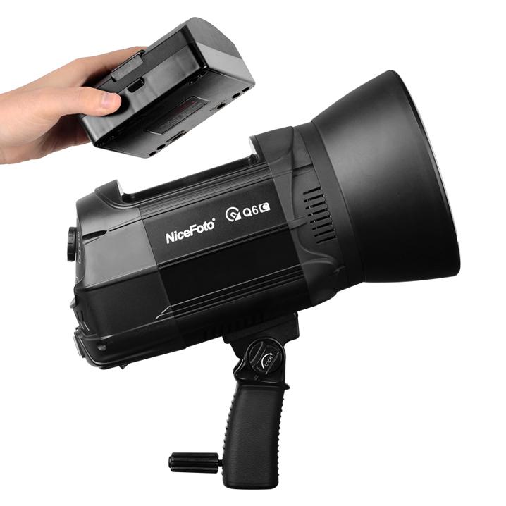 Аккумуляторный импульсный моноблок NiceFoto nflash Q6C