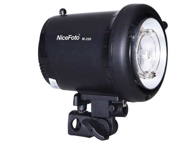 Студийный моноблок NiceFoto M-200 (мощность 200 Дж, bowens-S)
