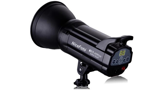 Студийная вспышка NiceFoto TB-300B (300 Дж, bowens S)