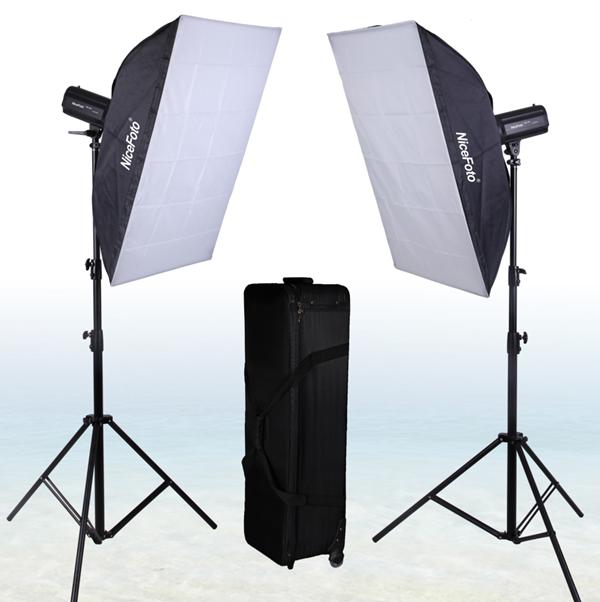 Комплект импульсного света NiceFoto GB-400
