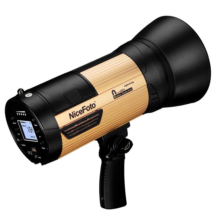 Аккумуляторный студийный моноблок NiceFoto nflash 480A (крепление bowens)