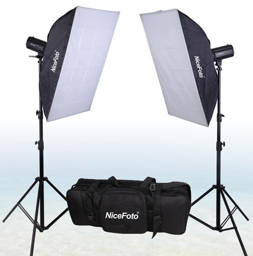 Комплект импульсного света NiceFoto GE-250-KIT