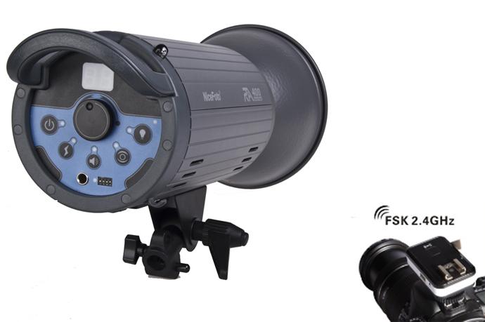 Студийный импульсный моноблок NiceFoto RA-600 + радиосинхронизатор (мощность 600 Дж.)