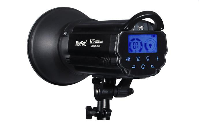 Студийный моноблок NiceFoto TS-600B c приёмником 2.4 MHz
